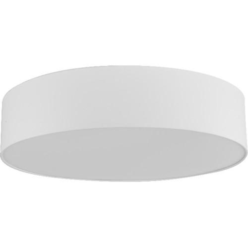 Plafon okrągły z abażurem Rondo 61 Biały TK Lighting do sypialni