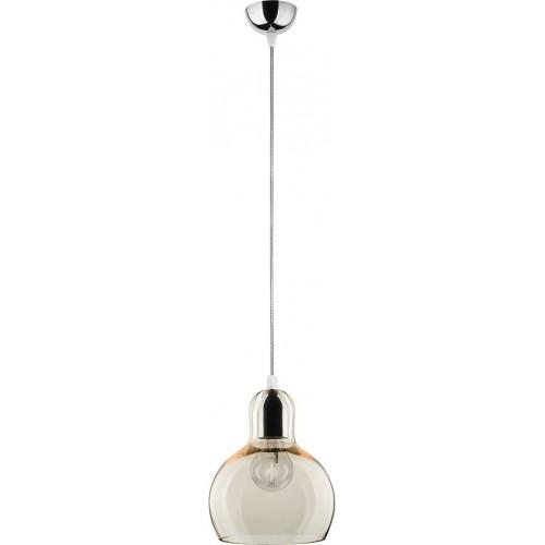 Stylowa Lampa wisząca szklana Mango 18 Słomkowy TK Lighting do kuchni