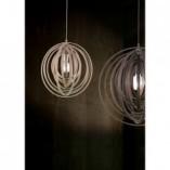 Lampa wisząca drewniana Boolan 50 Brązowa Trio do salonu i kuchni.