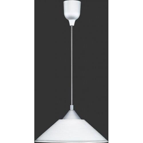 Lampa wisząca klasyczna Diego 30 Biała Trio do jadalni