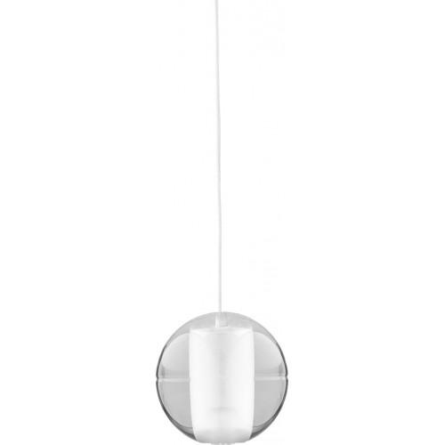 Glamour Lampa wisząca szklana kula Starlight 1 10 Transparentna Step Into Design do sypialni