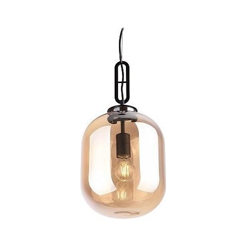 Lampa wisząca szklana nowoczesna Honey 24 Bursztynowa MaxLight do salonu