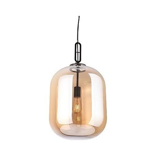 Lampa wisząca szklana nowoczesna Honey 30 Bursztynowa MaxLight do salonu