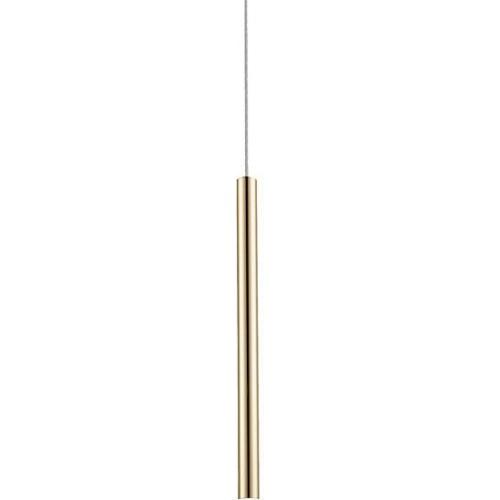 Lampa wisząca tuba glamour LOYA 8 LED złota ZumaLine do sypialni