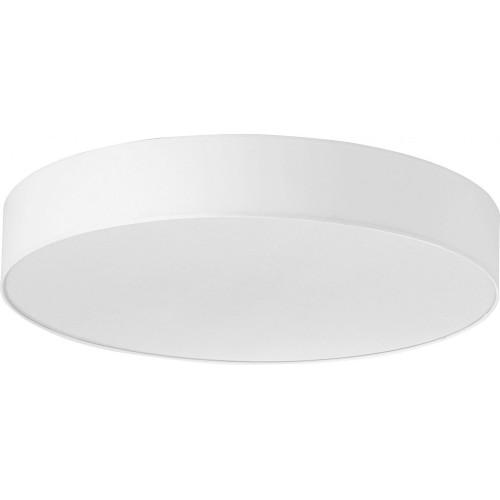 Plafon okrągły z abażurem Rondo 80 Biały TK Lighting do sypialni