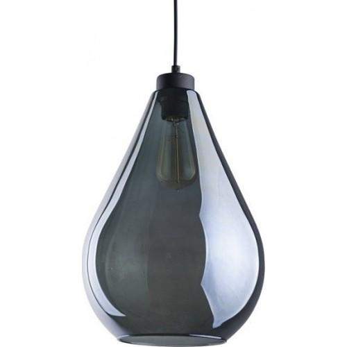 Stylowa Lampa wisząca szklana Fuente 24 Grafitowa TK Lighting do kuchni