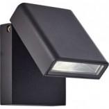 Kinkiet zewnętrzny Toya LED Czarny Brilliant na taras