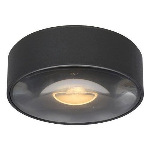 Plafon ogrodowy zewnętrzny Rayen LED 10 czarny Lucide