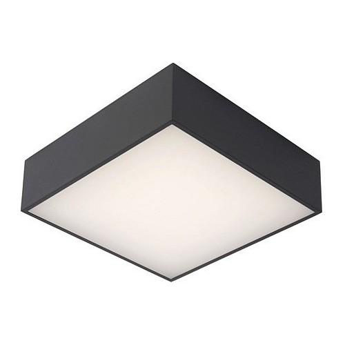 Plafon zewnętrzny kwadratowy Roxane 24 LED antracytowy Lucide