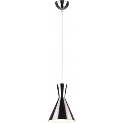 Stylowa Lampa wisząca loft Enzo 20 nikiel matowy Trio do kuchni i salonu.