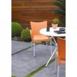 Stół ogrodowy okrągły Poppy jasny zielony 80 Siesta