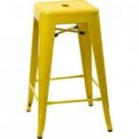 Hoker metalowy Paris 75 żółty D2.Design do kuchni