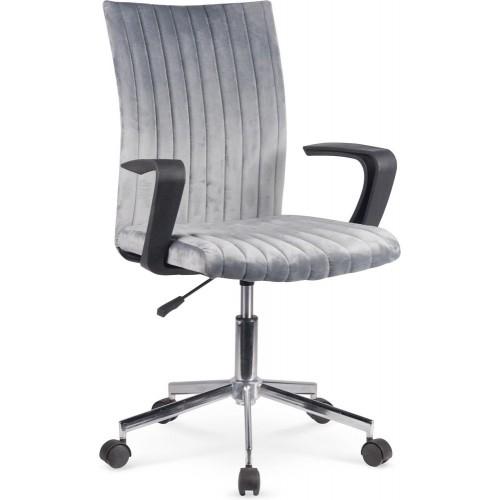 Fotel młodzieżowy do biurka Doral ciemny popiel Halmar.