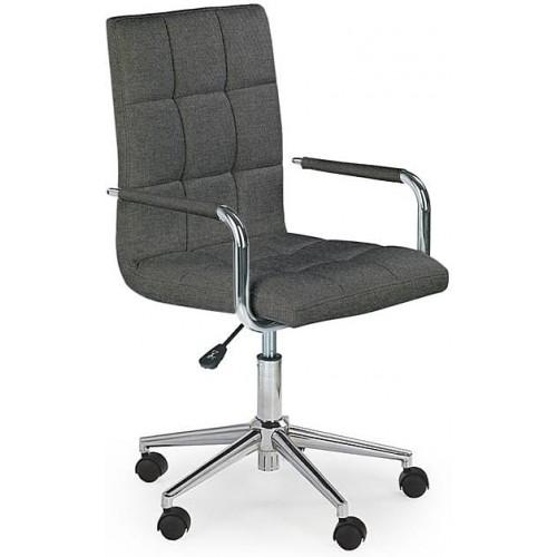 Krzesło młodzieżowe do biurka Gonzo 3 ciemny popiel Halmar.