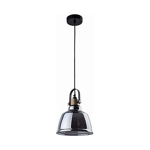 Lampa wisząca szklana loft Amalfi 20 Dymiona Nowodvorski do kuchni.