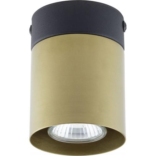 Stylowa Lampa glamour punktowa Vico 8 złota TK Lighting do kuchni i przedpokoju.