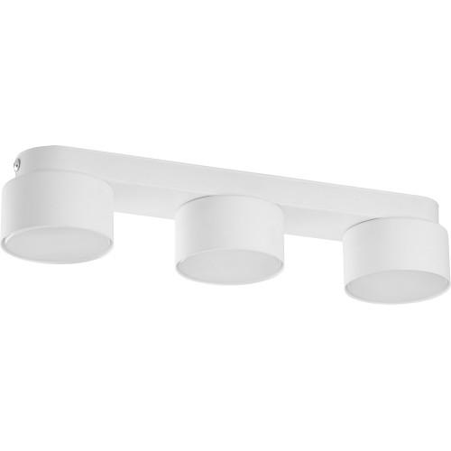 Stylowa Lampa sufitowa potrójna Space White 35 biała TK Lighting do kuchni i przedpokoju.