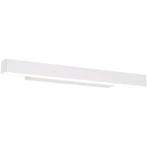 Kinkiet łazienkowy podłużny ściemnialny Linear 57 LED biały MaxLight nad lustro.