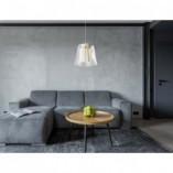 Lampa wisząca glamour Seda 31 LED złota MaxLight do salonu i jadalni.