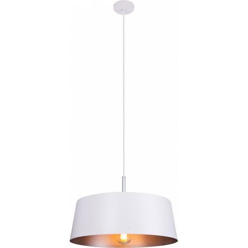 Lampa wisząca designerska Tallin 46 biała MaxLight do salonu i nad stół.