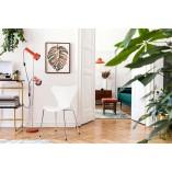 Designerskie Krzesło designerskie z tworzywa Martinus białe D2.Design do kuchni i salonu