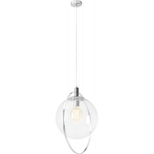 Lampa wisząca szklana kula Auroa...
