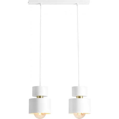 Lampa wisząca podwójna Kadm White 50...