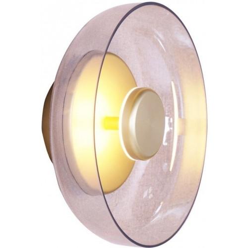Kinkiet szklany okrągły Disco LED...