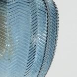 Stylowa Lampa wisząca szklana dekoracyjna Omnia 24 niebieska do kuchni i salonu.