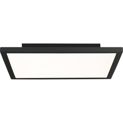 Plafon minimalistyczny kwadratowy Ceres LED 25 czarny Brilliant do przedpokoju i kuchni