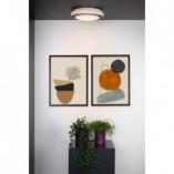 Designerski Plafon okrągły łazienkowy Dimy 28 LED czarny Lucide
