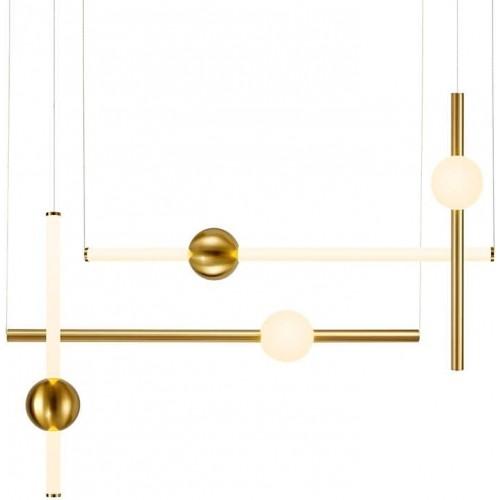 Lampa wisząca podłużna glamour O-line...