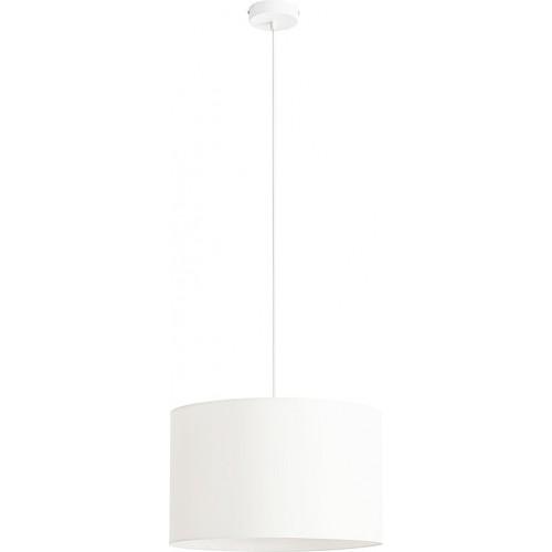 Designerska Lampa wisząca z abażurem Barilla White 40 biała Aldex do salonu