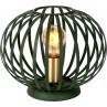 Lampa stołowa druciana kula Manuela 25 zielona Lucide na stolik nocny