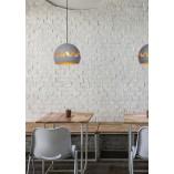 Designerska Lampa wisząca kula dekoracyjna Corentin 28 szary mat Lucide do salonu
