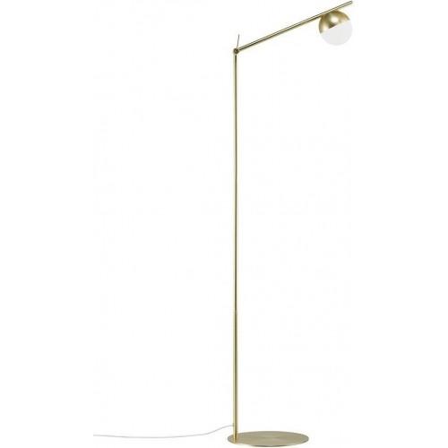 Lampa podłogowa szklana kula Contina...