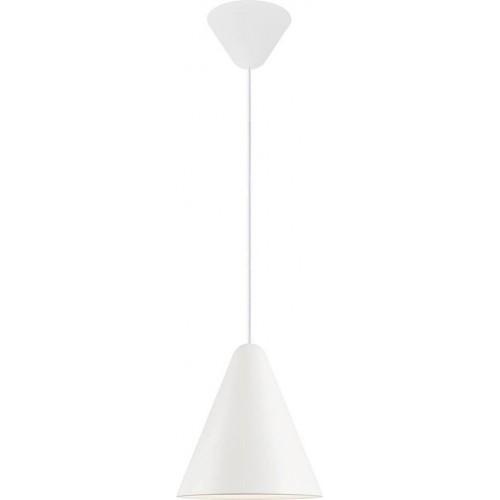 Lampa wisząca stożek Nono 23,5 biała...