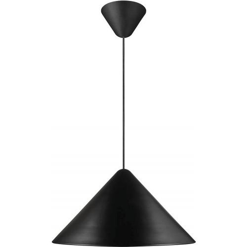 Lampa wisząca stożek Nono 49 czarna DFTP