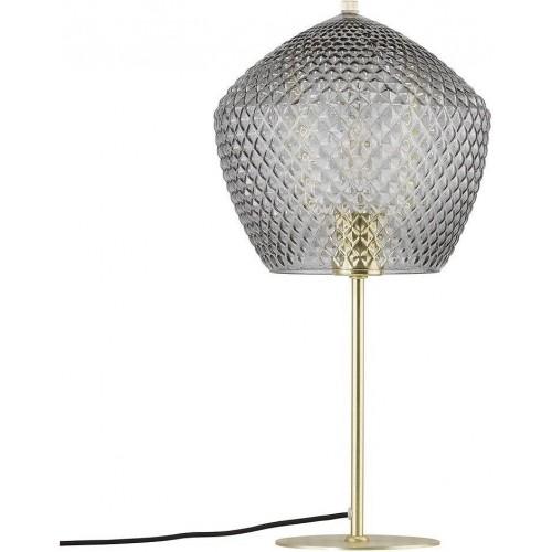 Lampa stołowa szklana Orbiform szkło...