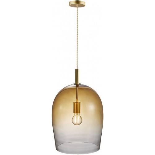 Lampa wisząca szklana Uma 30...