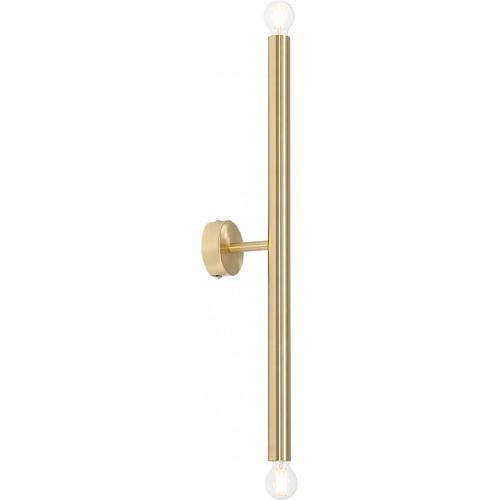Kinkiet glamour tuba Tubo Brass S...