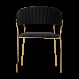 Krzesła ze złotymi nogami