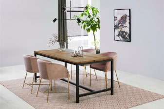 Fotele glamour w salonie-aranzacja