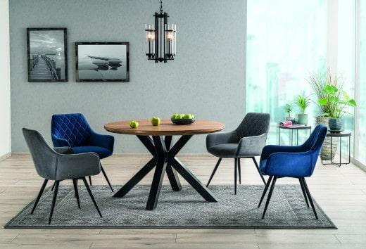 Krzesła fotelowe do stołu