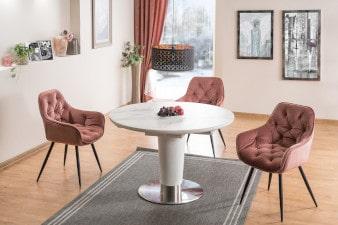 Krzesła fotelowe inspiracja