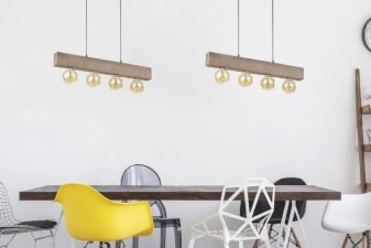 Lampy drewniane i ze sklejki -inspiracja
