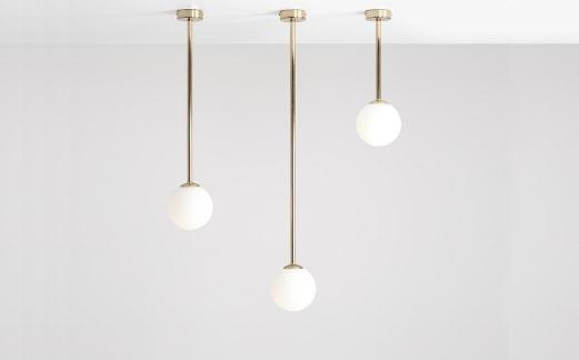Lampa sufitowa glamour