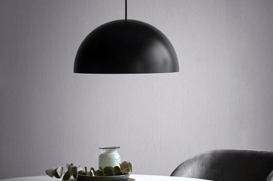Czarna minimalistyczna lampa wisząca Ellen 40 Nordlux.
