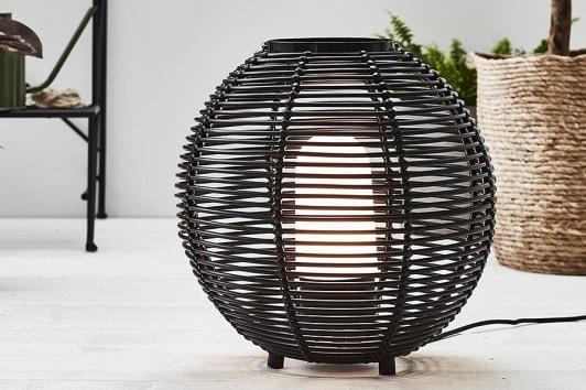Czarna lampa ogrodowa stołowa Sage Markslojd