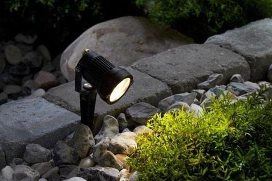 Czarny reflektor ogrodowy Tradga LED Markslojd